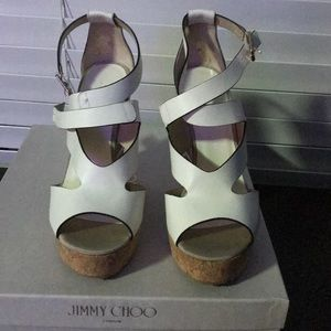 Authentic Jimmy Choo Sandals (New never worn)